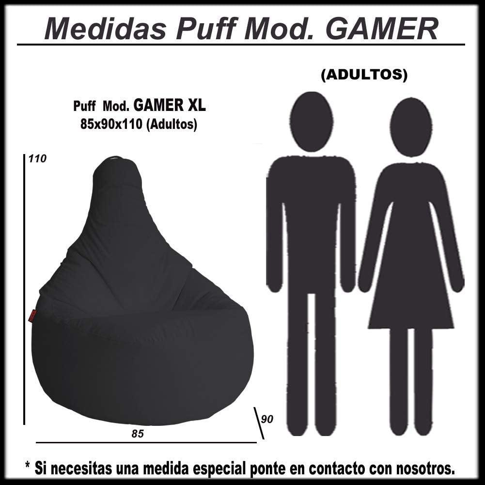 medidas sillon gamer